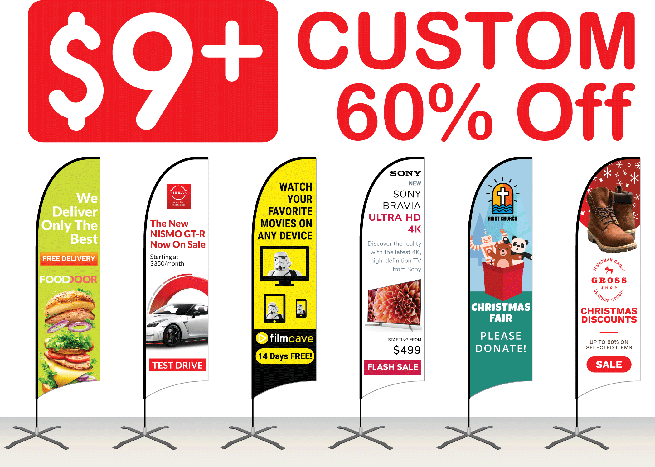 Feather Flags | cheap 60% Off wholesale | retractable-banner-stands.com